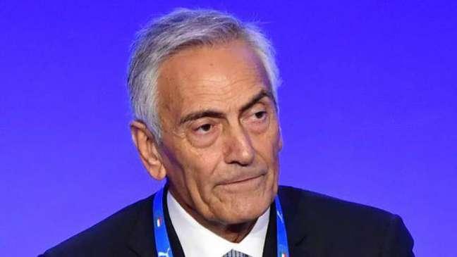 Gravina acredita que futebol italiano precisa passar por uma reforma (AFP)