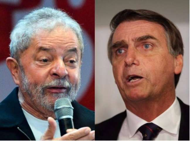 Lula e Jair Bolsonaro são candidatos competitivos para a eleição presidencial de 2022.