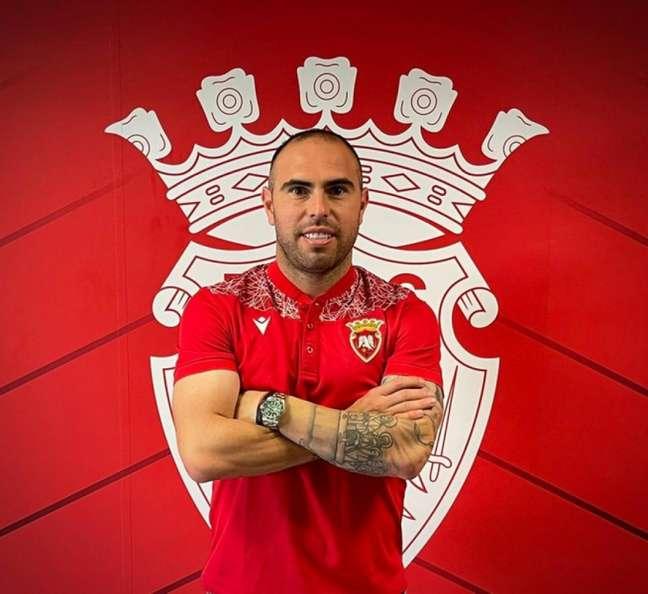 Bruno César assinou com o Penafiel, de Portugal, até até 2023 e teve sua rescisão divulgada no BID (Divulgação)
