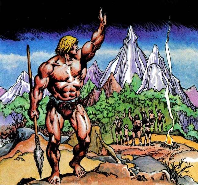 O primeiro He-Man era um Conan Louro, isso rendeu até processo.