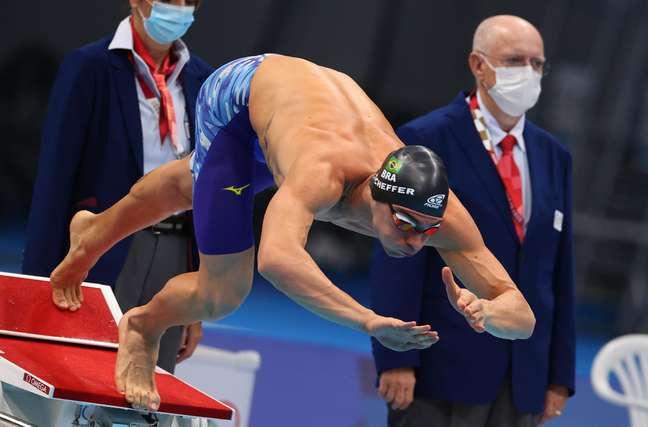 Brasil termina o revezamento 4x200m livre masculino na oitava posição