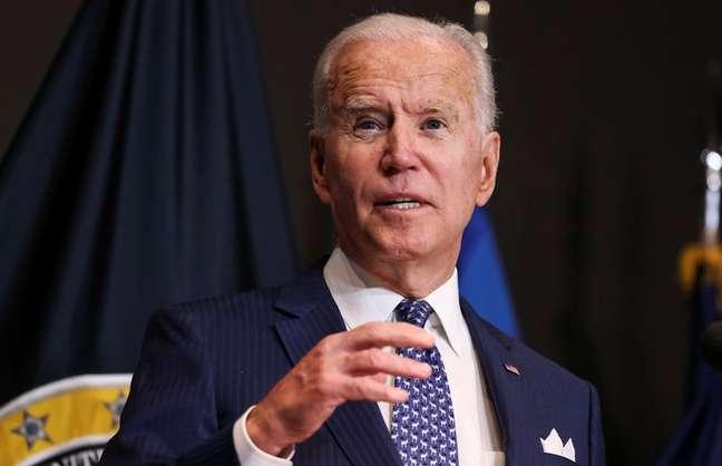 Presidente dos EUA Joe Biden   27/7/2021   REUTERS/Evelyn Hockstein