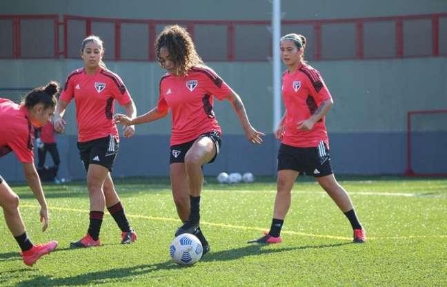 Equipe feminina do São Paulo já sabe a tabela do Paulistão (Foto: Gabriela Montesano/São Paulo FC)