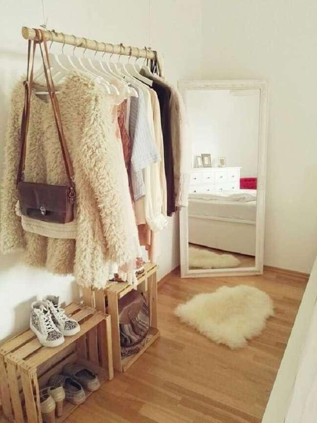 45. Modelo de arara de madeira simples. Fonte: Pinterest