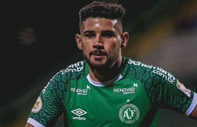 Zagueiro chegou a Chape há dois meses (Márcio Cunha/ACF)