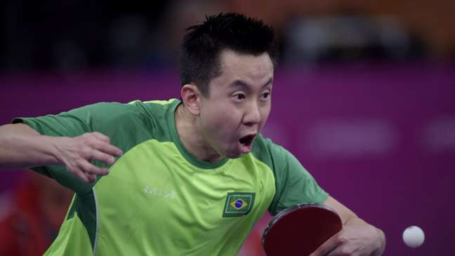 Gustavo Tsuboi avançou no tênis de mesa nos Jogos Olímpicos (Alexandre Loureiro/COB)