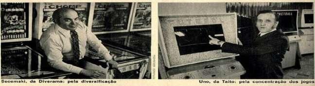 A Diverama começou a vender máquinas de pinball em 1968; em 1973, a Taito se instalou no país
