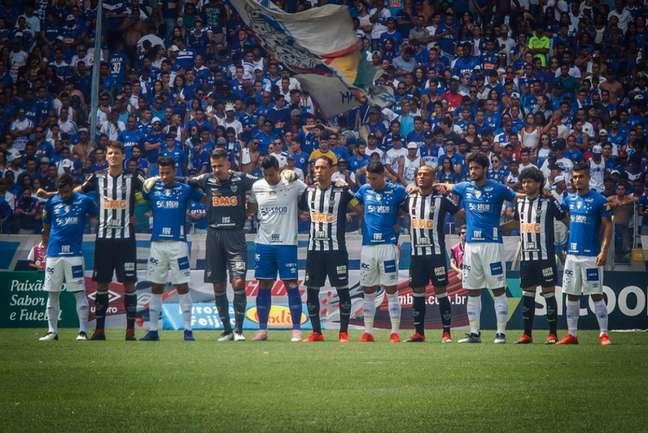Quase um ano e meio depois, os torcedores mineiros poderão ver seus clubes ao vivo nos estádios de BH-(Vinicius Silva/Cruzeiro)