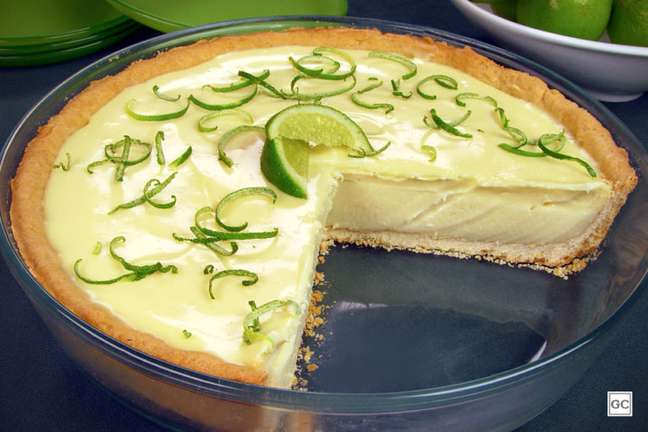 Guia da Cozinha - Torta de limão com chocolate branco irresistível