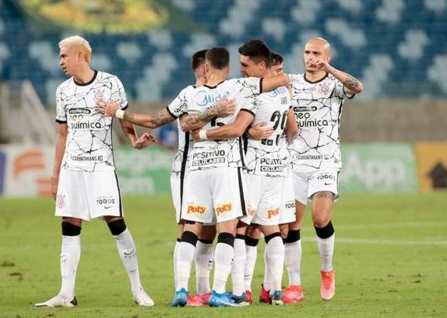 Corinthians venceu um adversário que seu nível permite derrotar (Foto: Rodrigo Coca/Ag. Corinthians)