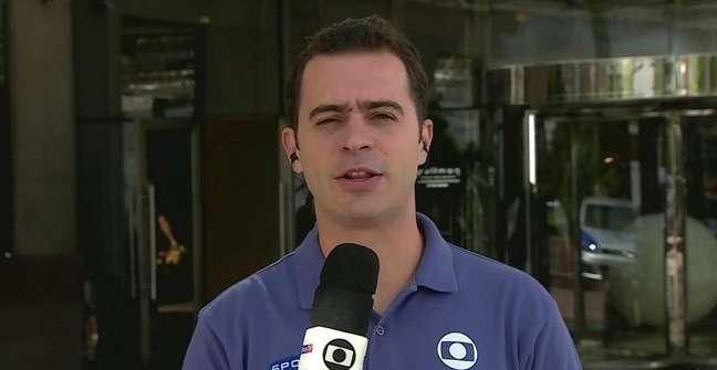 Guilherme Pereira em cobertura esportiva antes de ir ao Japão: emoção à flor da pele ao testemunhar conquista histórica para o surfe e o Brasil