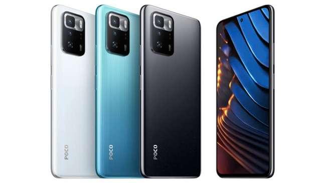 Poco X3 GT tem três opções de cores