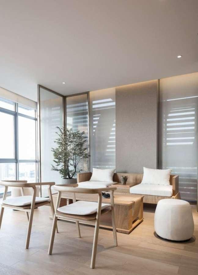 14. Sala de espera moderna para escritório – Foto A As Architecture