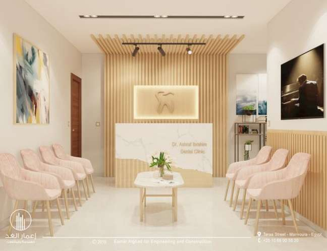 44. Sala de espera com cadeira confortáveis – Foto Behance