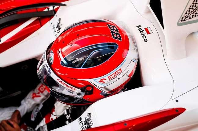 Robert Kubica testou a Alfa Romeo no TL1 do GP da Estíria e foi 19º