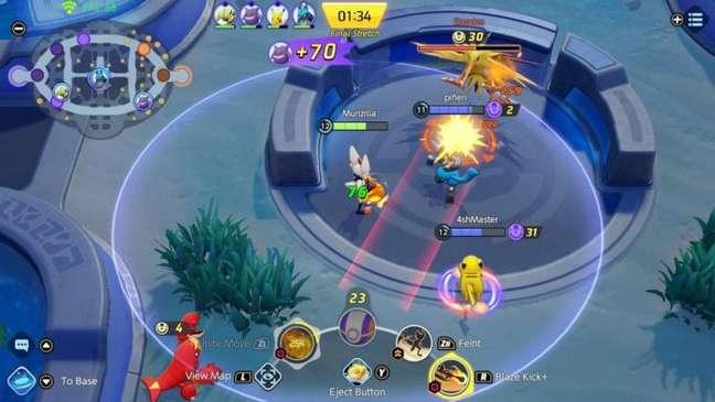 Zapdos garante o bônus mais forte em Pokémon Unite