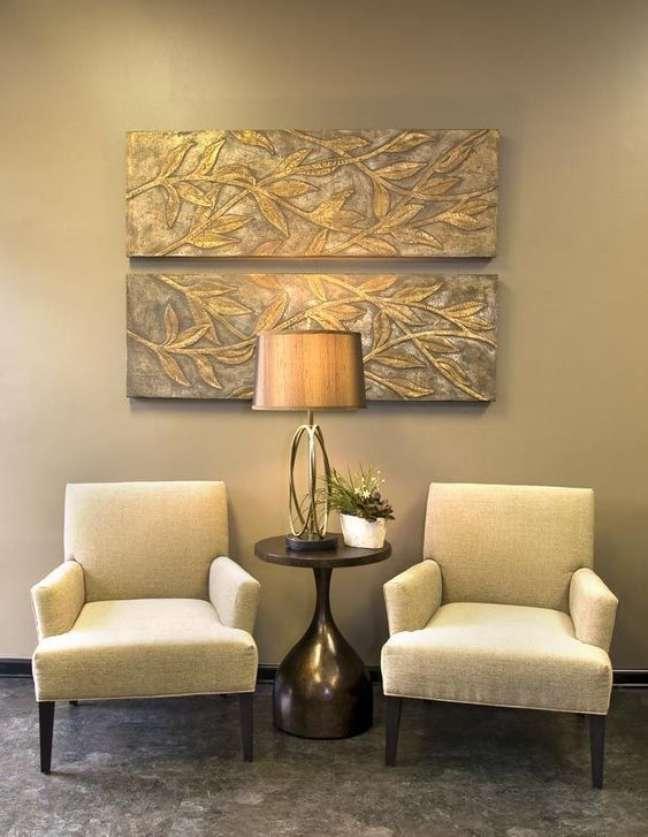 34. Móveis confortáveis para sala de espera – Foto Binged
