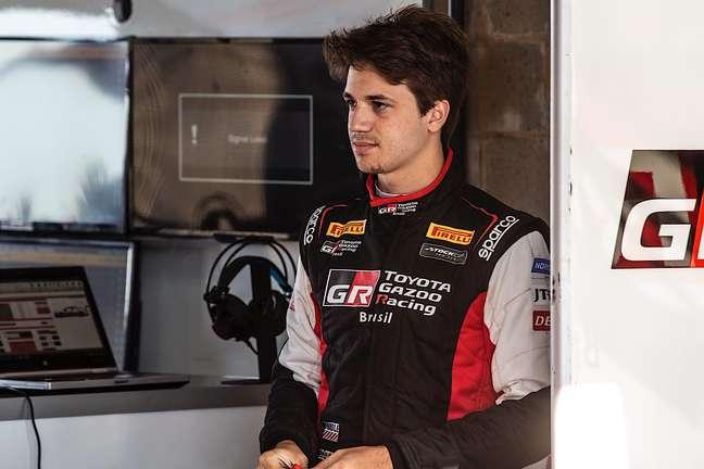 Dudu Barrichello fez sua estreia na Stock Car em Cascavel