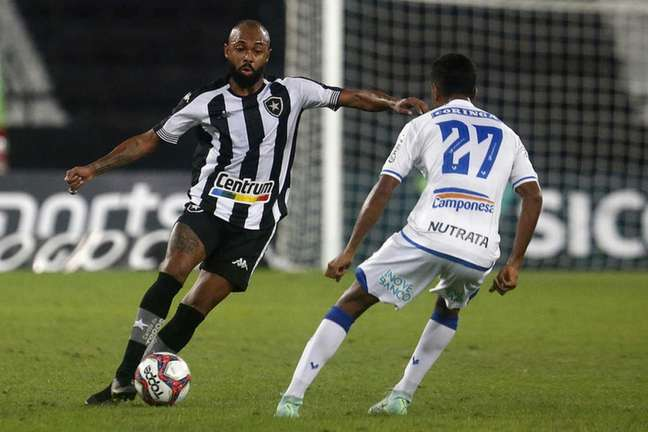 Chay, do Botafogo, contra o CSA (Foto: Vítor Silva/Botafogo)