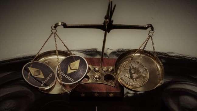 Ether supera crescimento do bitcoin