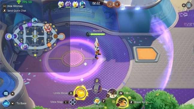 Preste atenção no minimapa para saber a localização dos inimigos