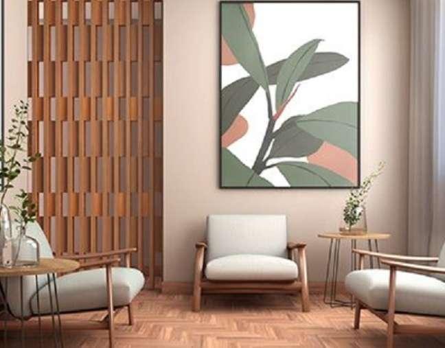 50. Sala de espera com móveis modernos – Foto Behance