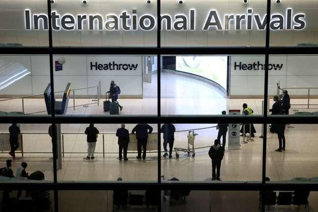 Aeroporto de Heathrow, em Londres, Reino Unido 18/01/2021 REUTERS/Henry Nicholls