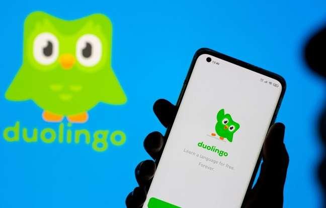 Logo do aplicativo de ensino Duolingo  29/06/2021 REUTERS/Dado Ruvic