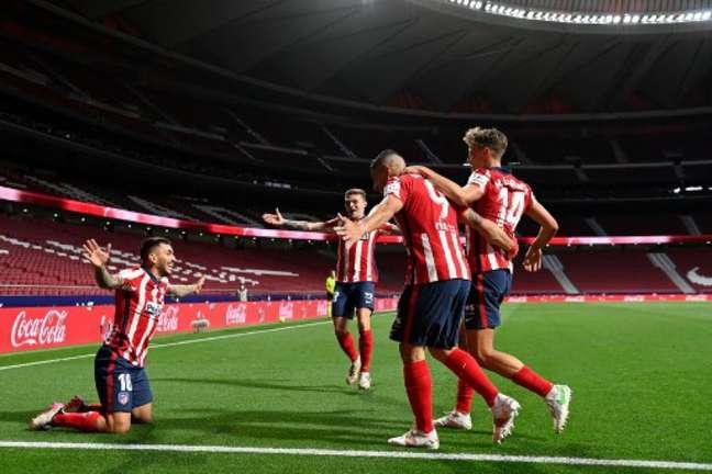 Atlético de Madrid joga contra o Salzburg com transmissão do Fox Sports (Foto: PIERRE-PHILIPPE MARCOU / AFP)