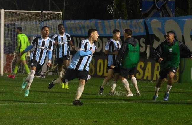 Equipe gaúcha vive bom momento no Brasileirão Sub-20 (Foto: Rodrigo Fatturi)