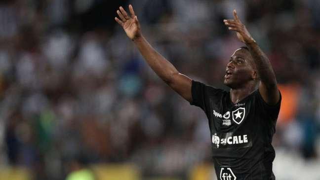 Jonathan em ação pelo Botafogo em 2019 (Foto: Vitor Silva/SSPress/Botafogo)