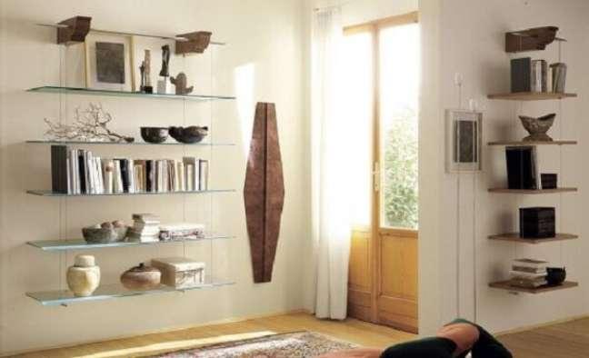 34. Estante de livro com design moderno. Fonte: Pinterest