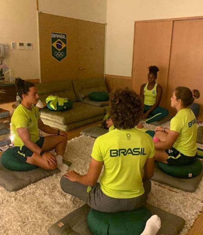 Olimpíadas: como os atletas mantém a saúde mental nos Jogos