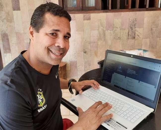 Rodrigo Chagas está fazendo curso para tirar a Licença A na CBF (Foto: Divulgação)