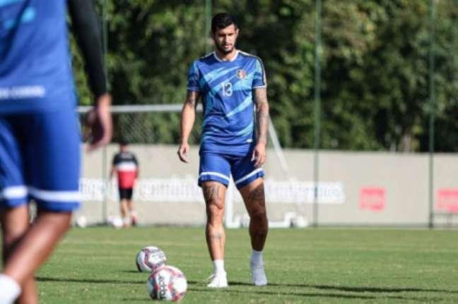 Atacante fez 20 gols em 59 jogos na primeira passagem pelo Santa (Rafael Melo/Santa Cruz)