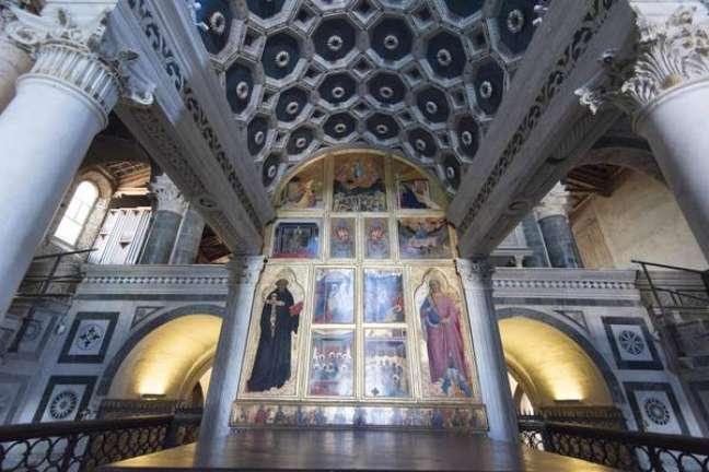 Abadia de San Miniato foi um dos monumentos que entrou na lista de Patrimônios