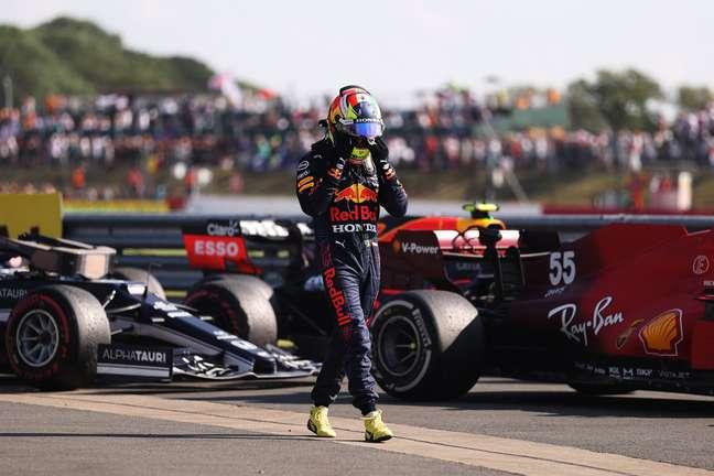 Pérez teve fim de semana difícil, mas alcançou a maior velocidade na Inglaterra, há duas semanas