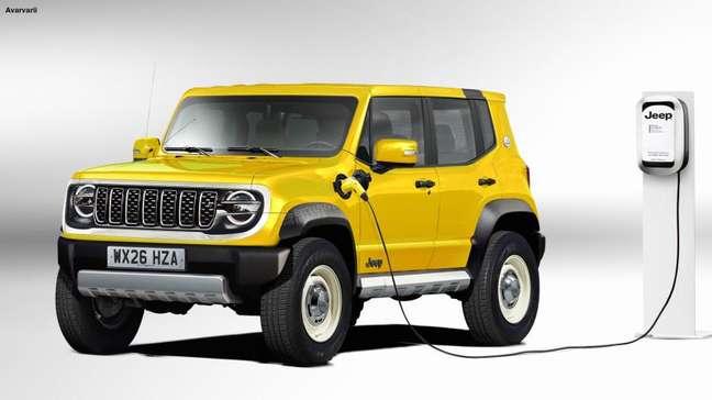 Baby Jeep: SUV elétrico menor do que o Renegade.