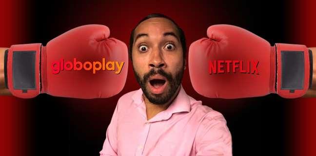 Gil do Vigor foi escalado pelo Globoplay para cutucar a concorrente Netflix nos intervalos do horário nobre da TV