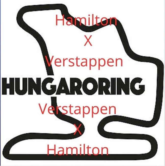 O circuito húngaro será palco do novo embate entre os pilotos principais de Mercedes e Red Bull.