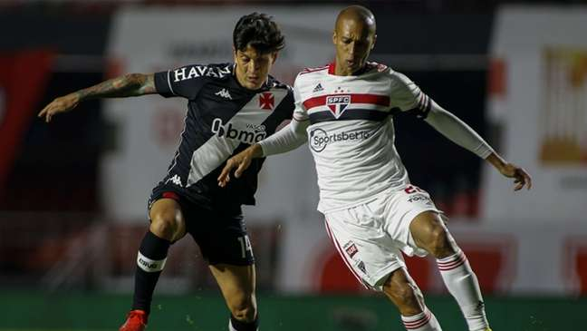 Cano esteve pouco inspirado contra o São Paulo, mas é o principal jogador da equipe (Miguel Schincariol)