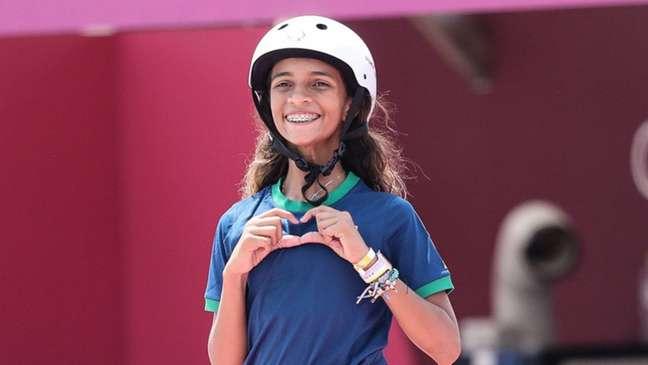 Rayssa Leal fez história nos Jogos Olímpicos (Foto: Wander Roberto/COB)