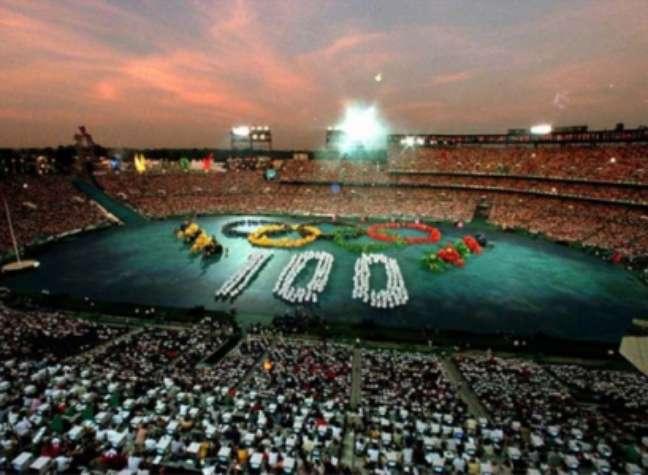Jogos Olímpicos de Atlanta, em 1996 (foto:AFP)