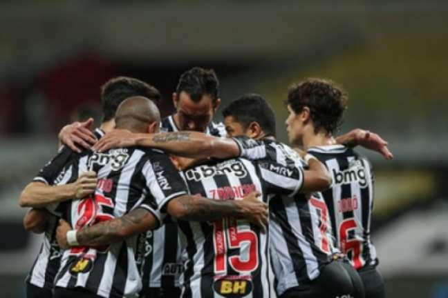 A força do alvinegro prevaleceu e vai com vantagem para o duelo de volta, na Bahia-(Pedro Souza/Atlético-MG)