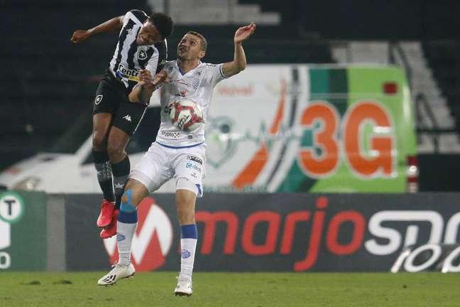 Formado na base do Nova Iguaçu, Lucas Mezenga jogou três partidas pelo time profissional do Botafogo. (Foto: Divulgação/Vítor Silva)
