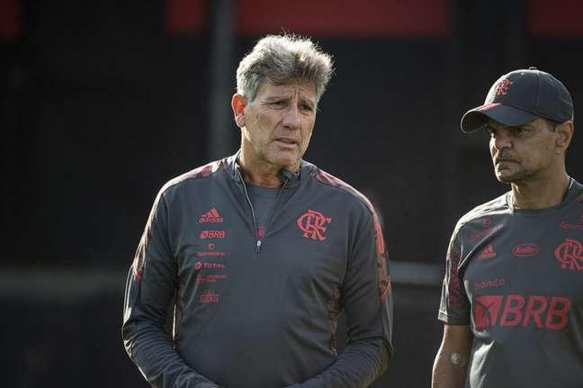 Renato Gaúcho tem 100% de aproveitamento no Flamengo (Foto: Alexandre Vidal/Flamengo)