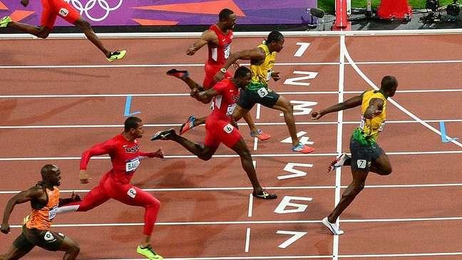 A final dos 100m rasos masculinos em Londres 2012, em que sete dos oito finalistas correram abaixo de 10 segundos, foi um sinal do que está por vir