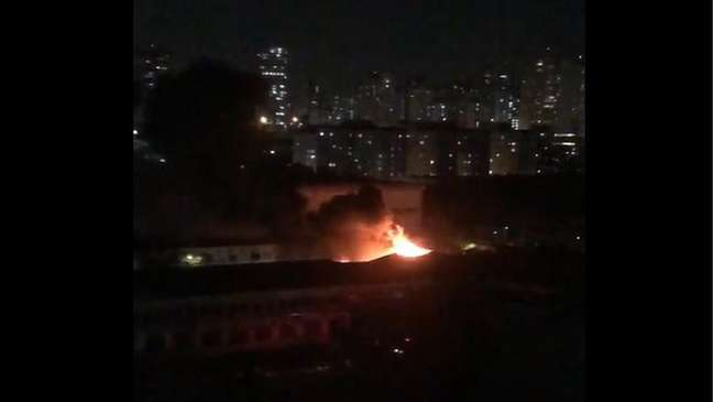 Incêndio em depósito da Cinemateca