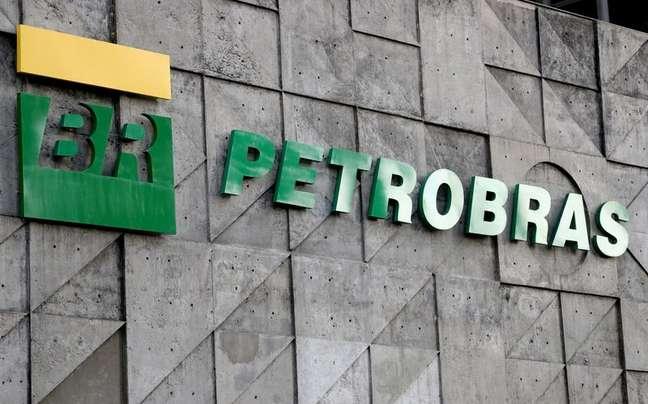 Logo da empresa de petróleo, Petrobras, no Rio de Janeiro, Brasil. 16/10/2019  REUTERS/Sergio Moraes