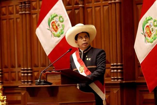 28/07/2021 Presidência do Peru/Divulgação via REUTERS